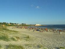 playa de cuchilla alta en verano